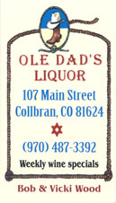 Ole Dad's Liquor in Collbran, Colorado